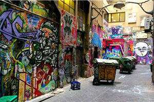 Degraves Lane, Melbourne, 2006